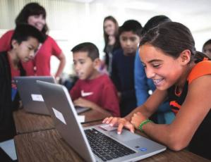 WHEN the novel coronavirus, COVID-19, closed schools, some area school disricts had the technology in place to begin offering online education to students, but Richmond did not. With the decision to buy 1,000 Chromebooks, every student in the district will have access to, and personal responsibility for, a computer.