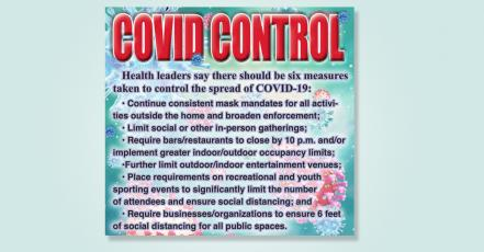 6 Steps to Covid Control