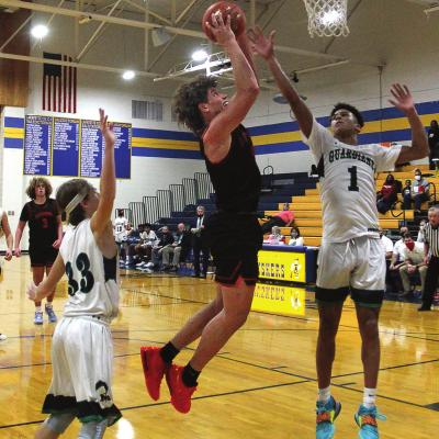 "THE SPARTANS – with Keyshaun Elliott shooting against St. Michael the Archangel in early December in the Husker Classic – ""are in a pretty good place"" after Holden and Carrollton wins put them at 5-1, coach Kevin Jermain says. J.C. VENTIMIGLIA 