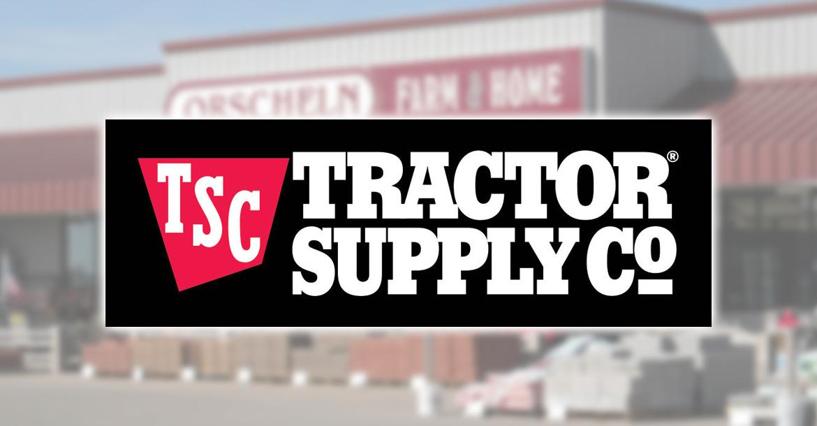 Tractor Supply Co. entered into an agreement to buy Orscheln Farm and Home for nearly $300 million.